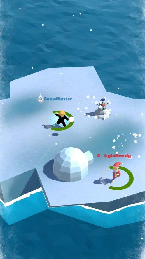 雪地大戰3D截圖