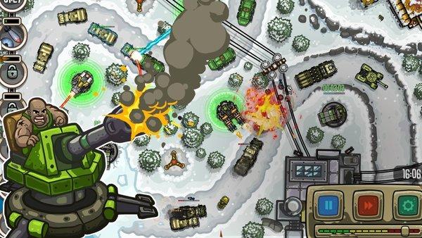 现代国防游戏截图