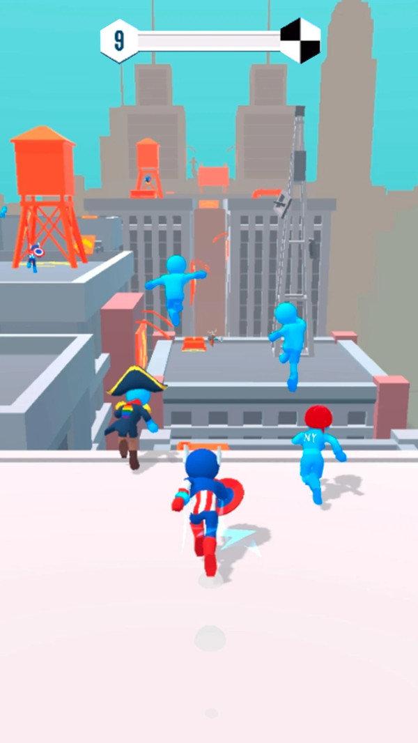 无限跑酷城市大竞赛