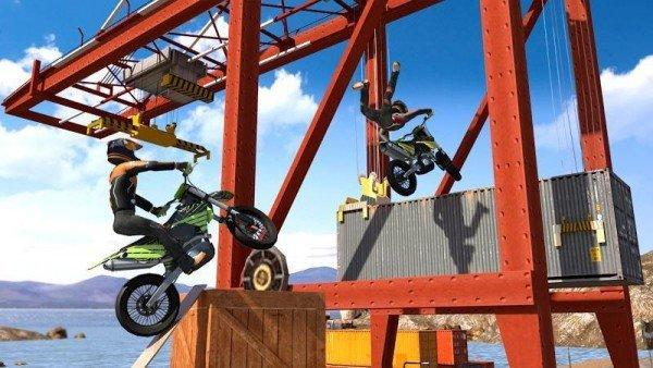 特技越野摩托車3D