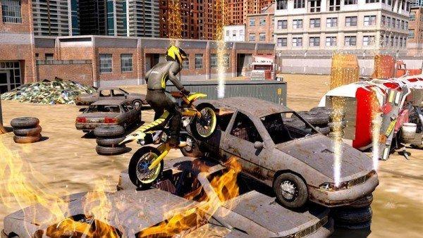 特技越野摩托車3D截圖