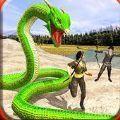 饥饿蛇狩猎