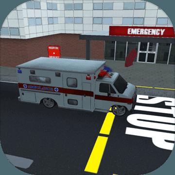 先锋救护车3d
