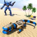 巨蜥变形机器人
