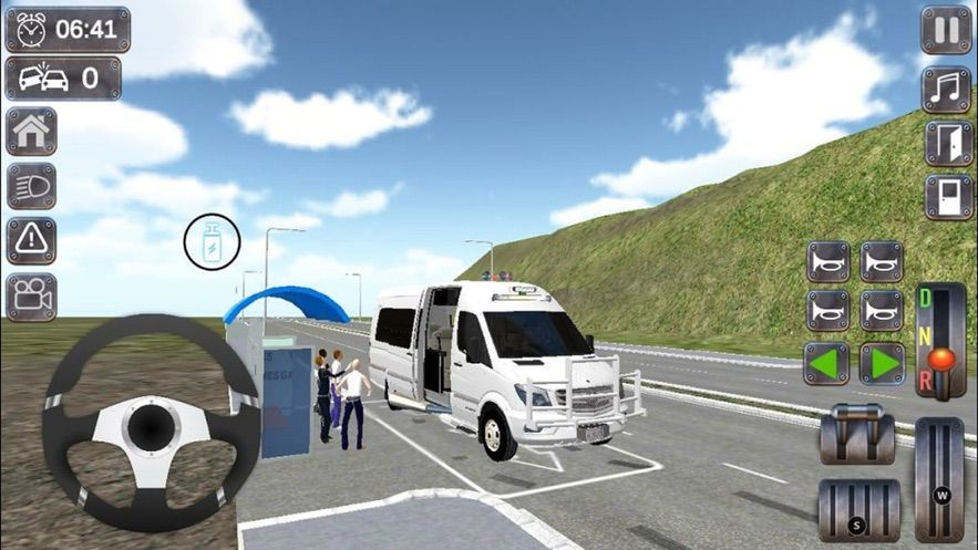 小巴驾驶模拟