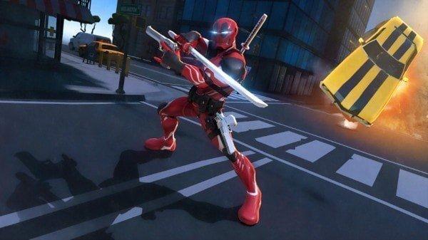 钢铁英雄格斗