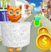 卫生纸猫运行