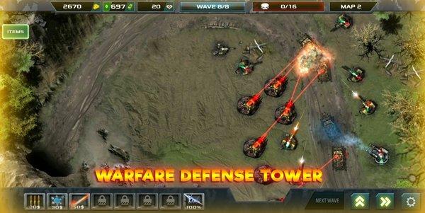 塔防無限戰爭截圖