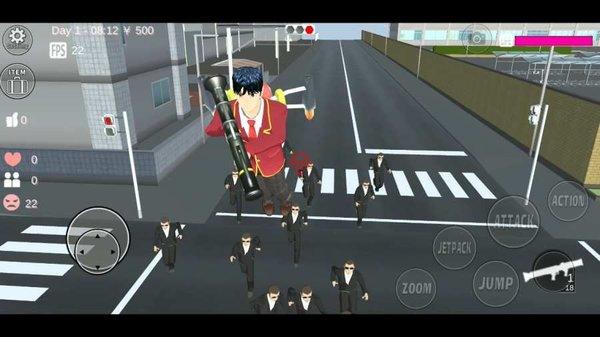 樱花校园模拟器农场游戏截图