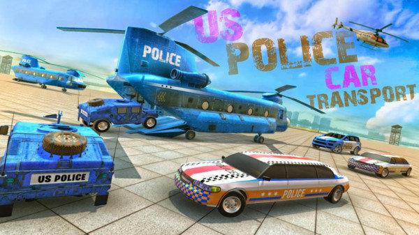 美国警车运输