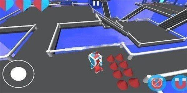 磁铁机器人3d