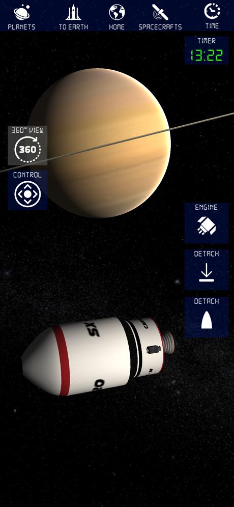 航天火箭探测