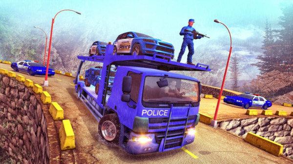 美国警车运输截图