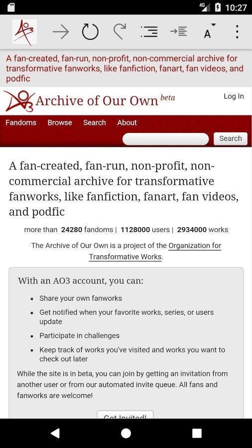 Ao3镜像app截图