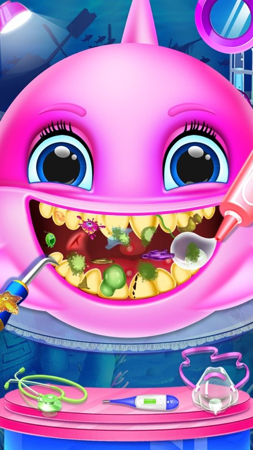 鲨鱼宝宝牙医