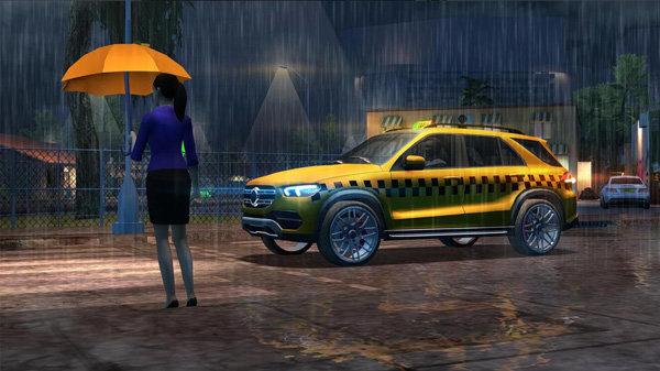 出租车驾驶模拟2020中文破解版-出租车驾驶模拟2020无限金币破解版下载