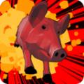 非常普通的猪