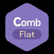 Comb flat