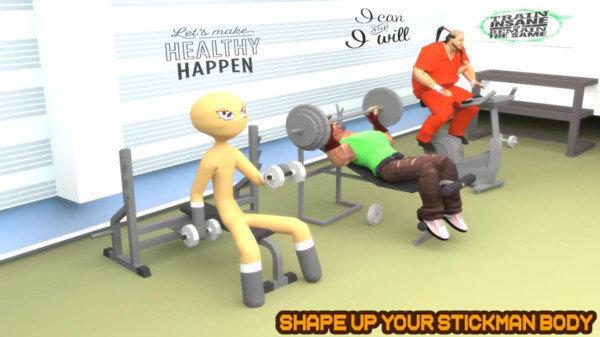 火柴人健身模拟器