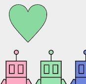 彩色机器人工厂