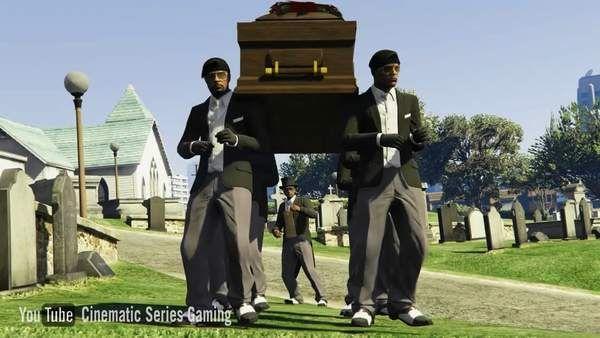 黑人抬棺游戏