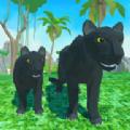 黑豹家庭模拟3D冒险丛林