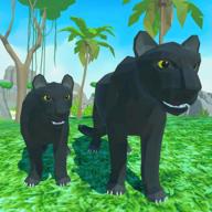 黑豹家庭模拟3D冒险丛林中文版