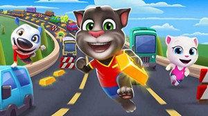 汤姆猫跑酷多版本游戏大全