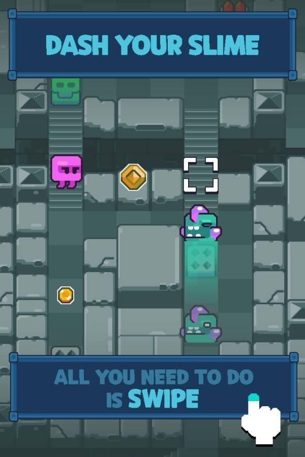 超级史莱姆无尽迷宫游戏截图