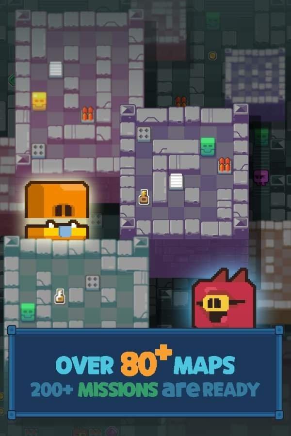 超级史莱姆冲刺无尽迷宫游戏截图