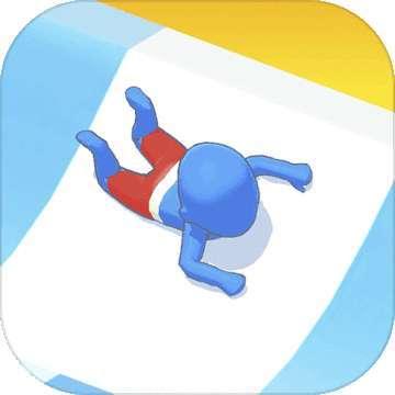 水上樂園-滑梯競速