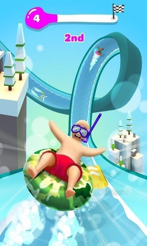 水上乐园滑梯大冒险