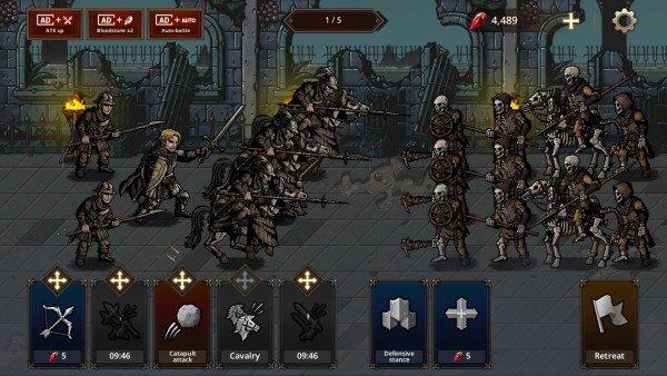 国王之血防御游戏