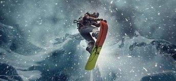手机上的滑雪游戏