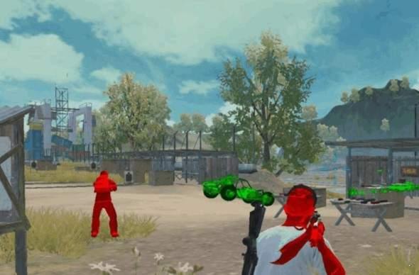 和平精英自瞄锁头游戏截图