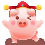 福气满满猪