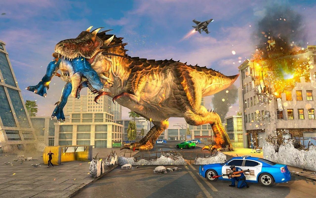 恐龙狂暴模拟器2020