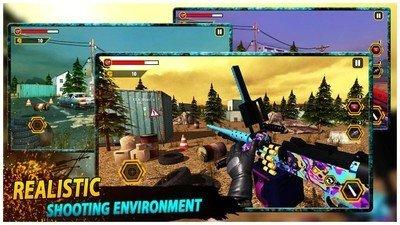 射击战争模拟器