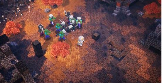 我的世界地下城手游将为玩家们展示经典的迷宫探索冒险游戏