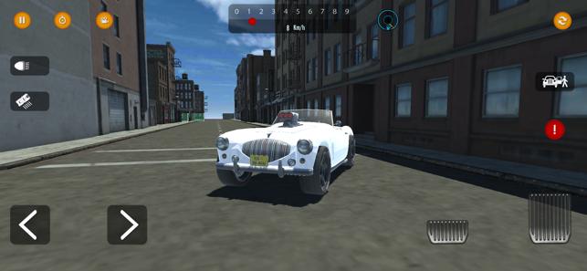 复古汽车模拟器