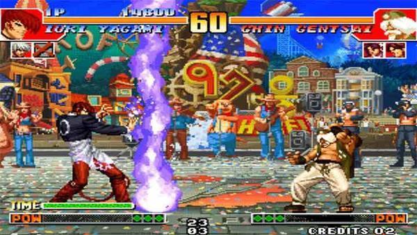 拳皇97风云再起游戏截图