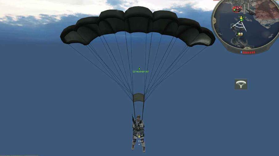 战地2怎么跳伞-战地2跳伞技巧介绍