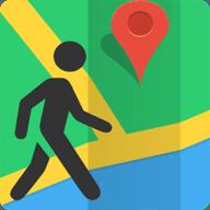 步行导航地图