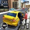 現代出租車駕駛停車3D