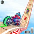 机器人摩托车特技