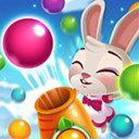 萌兔泡泡龙游戏