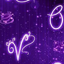 紫色天空壁纸桌面