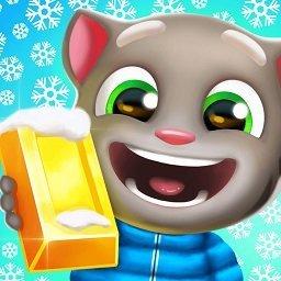 汤姆猫跑酷冬天版无限金币