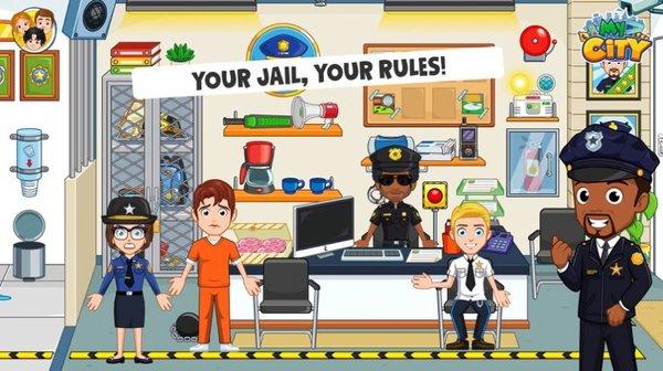 我的城市监狱游戏iOS版截图