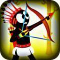 火柴人印第安弓箭手破解版